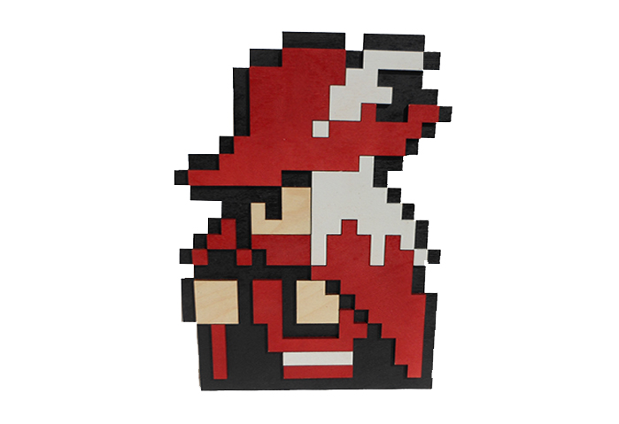 EightBitWood.com - Home of Laser Cut Hand Painted 8 Bit Video Game ...